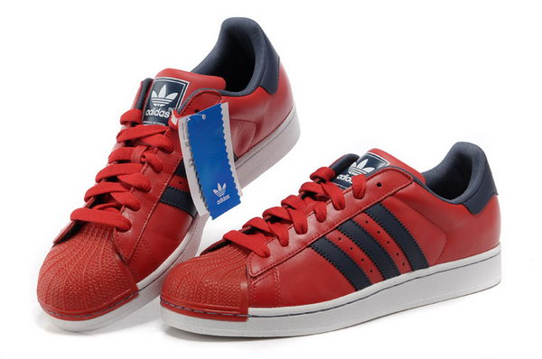 Adidas Superstar Mens & Womens (unisex) Red Dark Blue Online Store