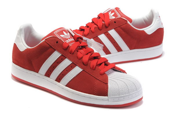Adidas Superstar Mens & Womens (unisex) Red White Poland
