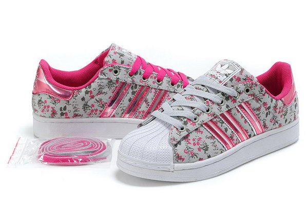 Womens Adidas Superstar Ii 3d Pink Floral New Zealand