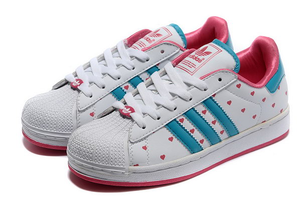 Womens Adidas Superstar Ii White Valentines Day Discount Code