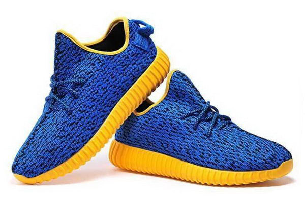Womens & Mens (unisex) Adidas Yeezy Boost 350 Blue Orange 36-46 For Sale
