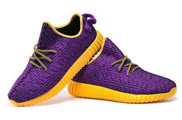 Womens & Mens (unisex) Adidas Yeezy Boost 350 Purple Orange 36-46 Outlet