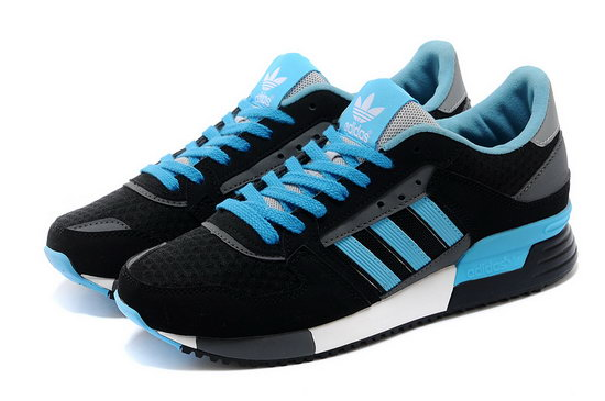 Womens Adidas Zx 630 Black Blue Inexpensive