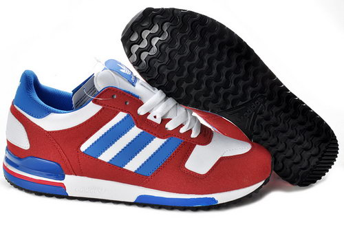 Adidas Zx 700 Mens Size Us7 7.5 9 10.5 Red Blue Review