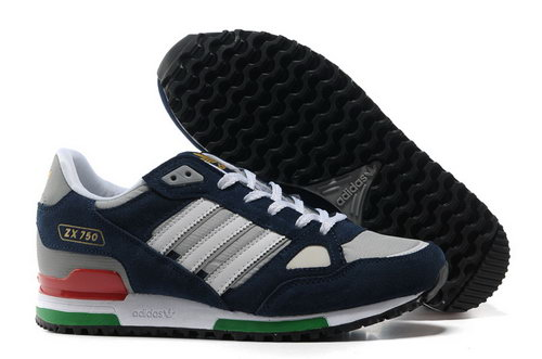 Adidas Zx 750 Mens Dark Blue White Clearance
