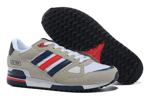Adidas Zx 750 Mens Grey Dark Blue Red Canada