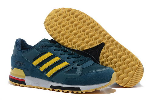 Adidas Zx 750 Mens Navy Blue Yellow Low Cost