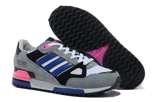Adidas Zx 750 Mens Size Us7 7.5 9 10.5 Grey Black Blue Outlet