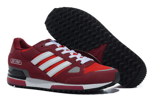 Adidas Zx 750 Mens Wine Red White New Zealand