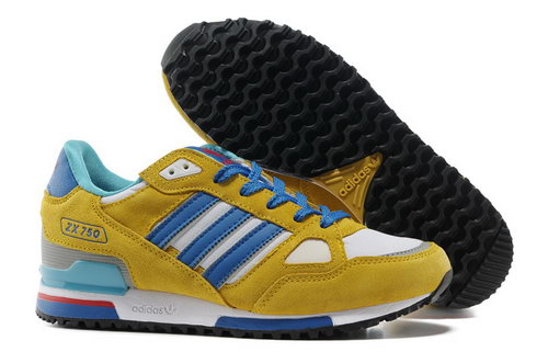 Adidas Zx 750 Mens Yellow Blue Czech