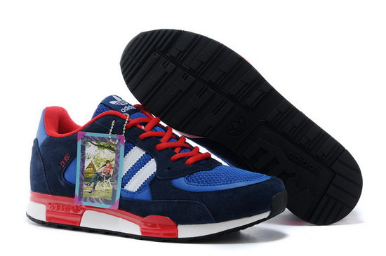 Mens Adidas Zx 850 Dark Blue Red On Sale