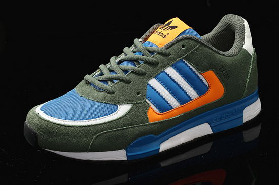 Mens Adidas Zx 850 Navy Green Blue Wholesale