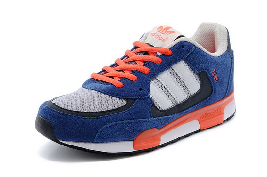 Womens Adidas Zx 850 Blue Orange Korea