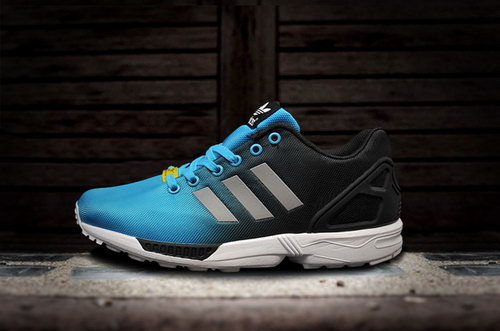 Adidas Zx Flux Mens & Womens (unisex) Reflective Blue Black France