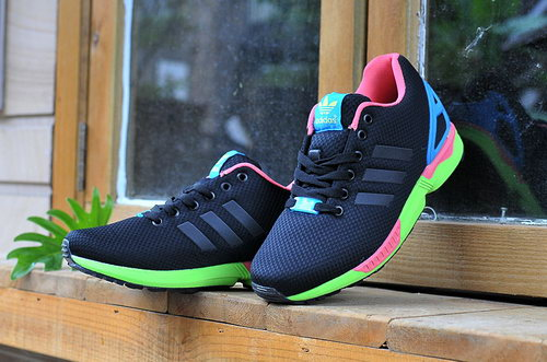 Adidas Zx Flux Mens & Womens (unisex) Black Pink Blue Green Czech