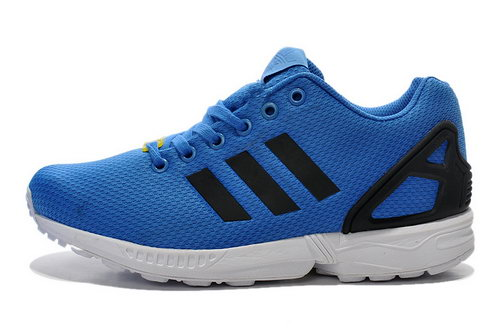 Adidas Zx Flux Mens & Womens (unisex) Blue Black Low Price
