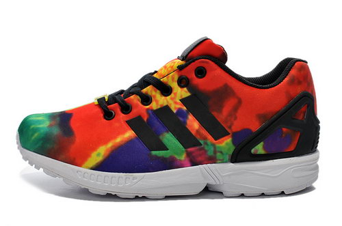 Adidas Zx Flux Mens & Womens (unisex) Flaming Mountains On Sale