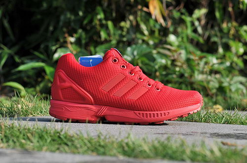 Adidas Zx Flux Mens & Womens (unisex) Red October All Red Norway