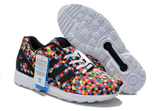 Mens Adidas Zx Flux Multicolor Prism Outlet Online