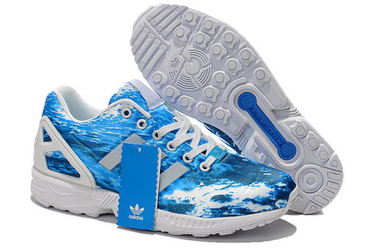 Mens Adidas Zx Flux Ocean Waves Australia