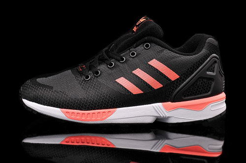 Mens Adidas Zx Flux Weave Black Red Canada