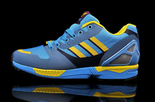 Mens Adidas Zx Flux Weave Blue Outlet Store