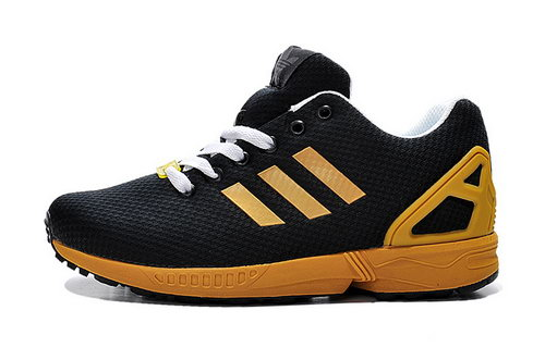 Mens Adidas Zx Flux Black Gold Online Store