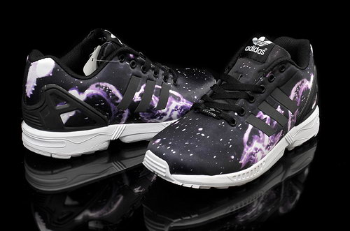 Mens Adidas Zx Flux Galactic Purple For Sale
