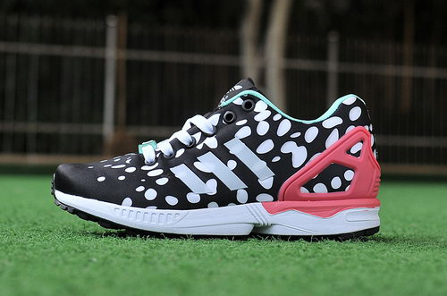 Womens Adidas Zx Flux Black White Portugal